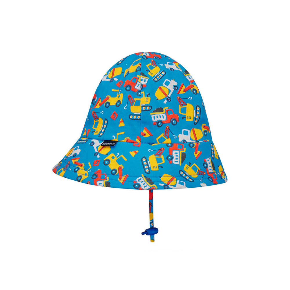 Toddler Bedhead Hats Bucket Hat - Construction Print