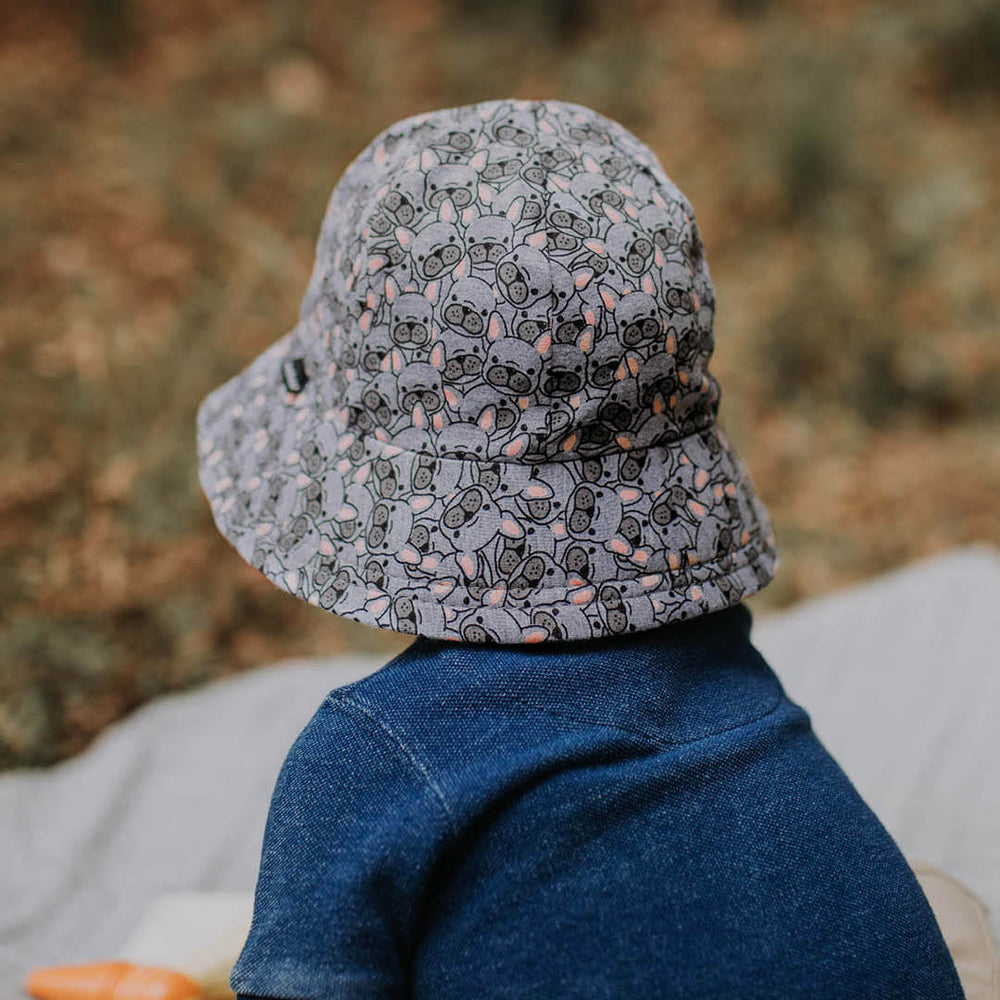 Toddler Bedhead Hats Bucket Hat - Frenchie Print
