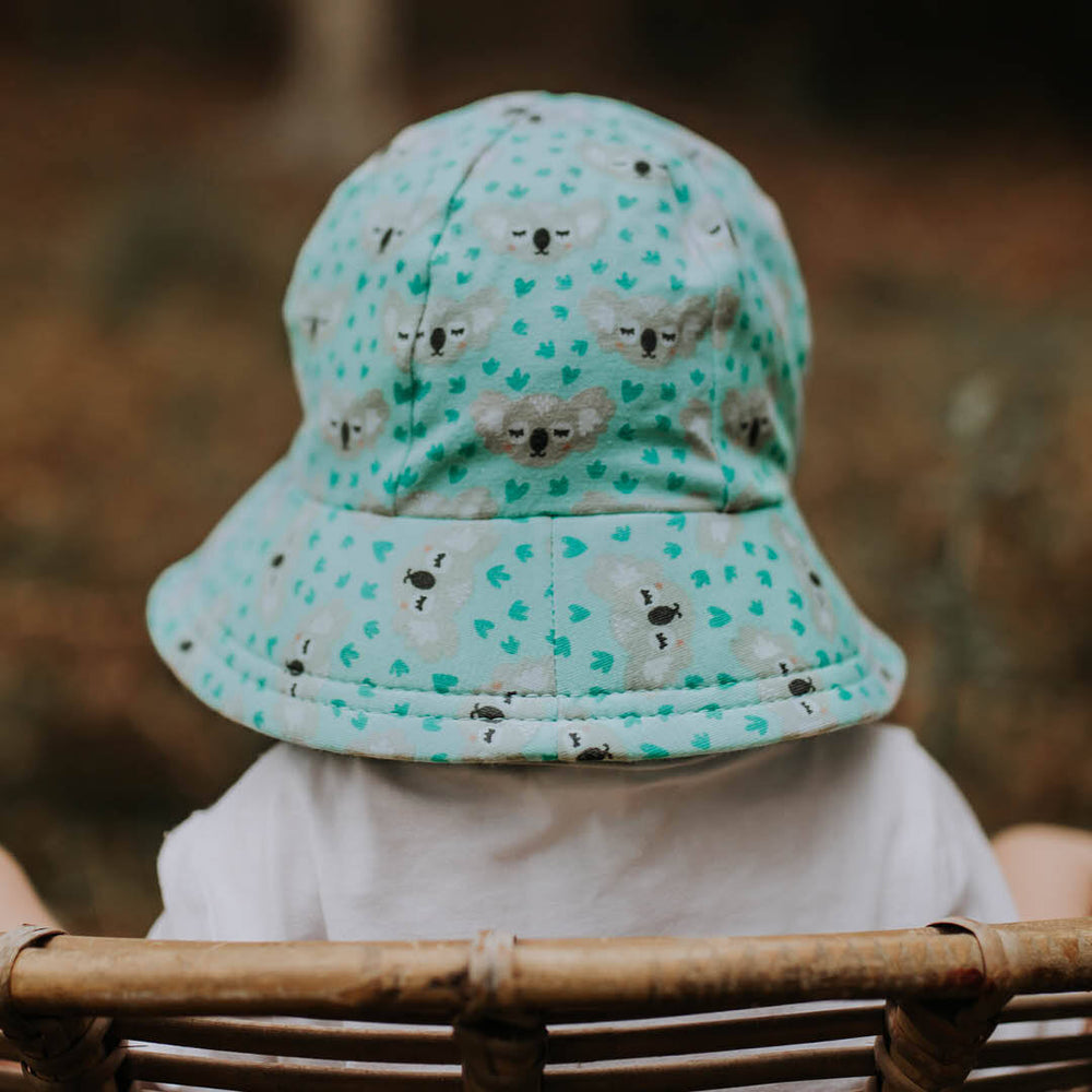 Load image into Gallery viewer, Toddler Bedhead Hats Bucket Hat - Koala Print