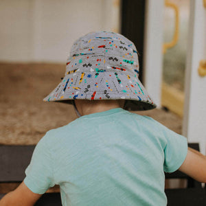 Load image into Gallery viewer, Kids Bedhead Hats Bucket Hat - Racer Print