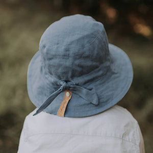 Kids 'Explorer' Reversible Bedhead Hats Sun Hat (Crew / Steele)