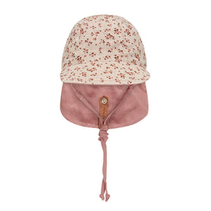 Load image into Gallery viewer, Reversible Bedhead Hats 'Lounger' Baby Flap Sun Hat (Harlow / Rosa)