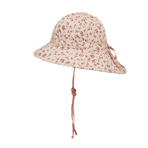 Load image into Gallery viewer, Kids 'Wanderer' Reversible Bedhead Hats Sun Hat (Harlow / Rosa)