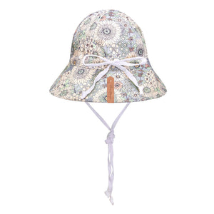 Load image into Gallery viewer, Kids 'Wanderer' Reversible Bedhead Hats Sun Hat (Prairie / Blanc)