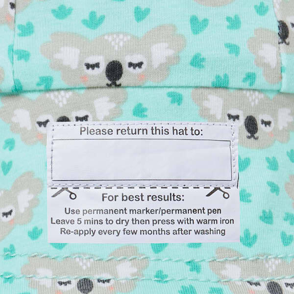 Load image into Gallery viewer, Legionnaire Bedhead Hats Flap Hat (Koala Print)