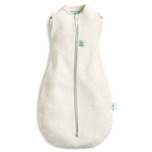Load image into Gallery viewer, ergoPouch Grey Marle Cocoon Swaddle Bag 1.0 TOG