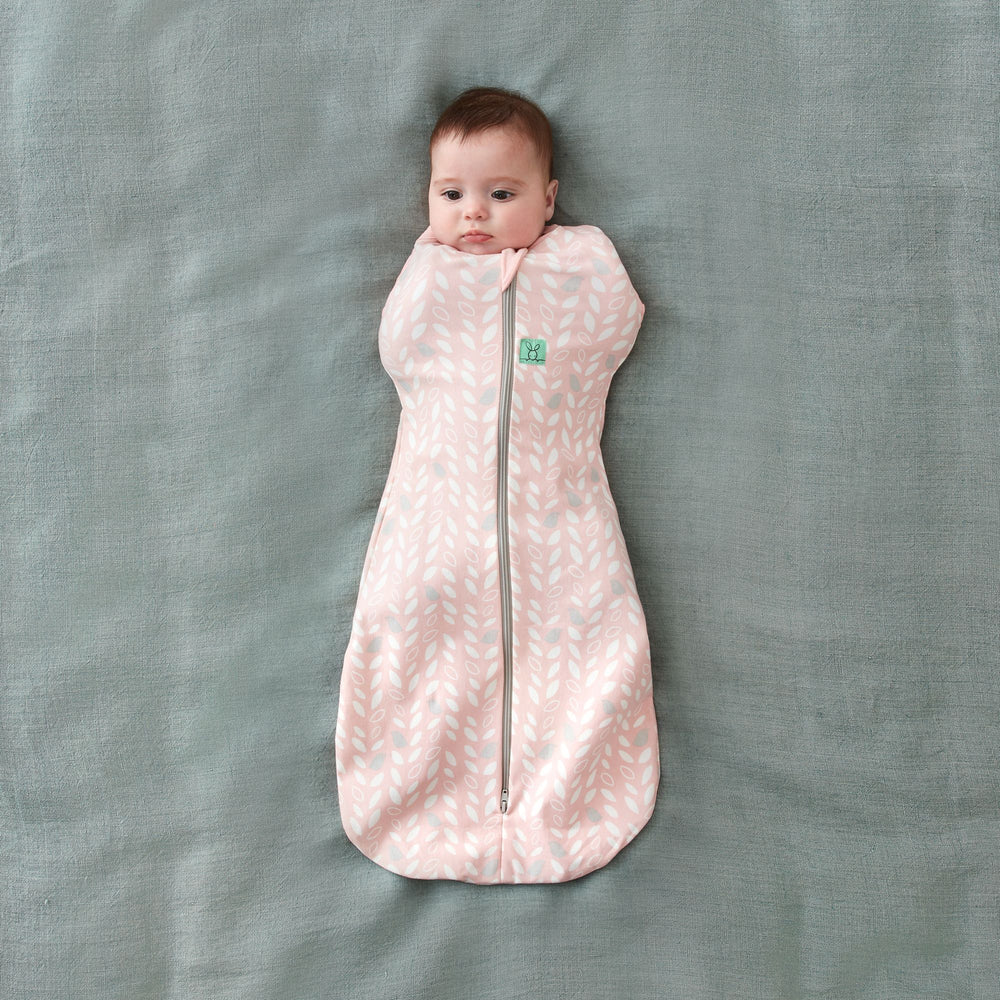 ergoPouch Spring Leaves Cocoon Swaddle Bag 1.0 TOG