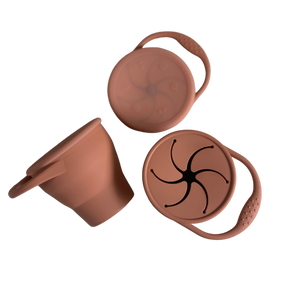 Copper Collapsible Silicone Snack Cup