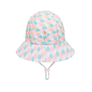 Load image into Gallery viewer, Ponytail Bedheads Hat Beach Ariel Print (Swim)