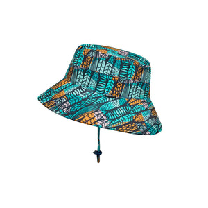 Load image into Gallery viewer, Kids Beach Bedheads Hat Bucket Hat Surfboard Print (Swim)