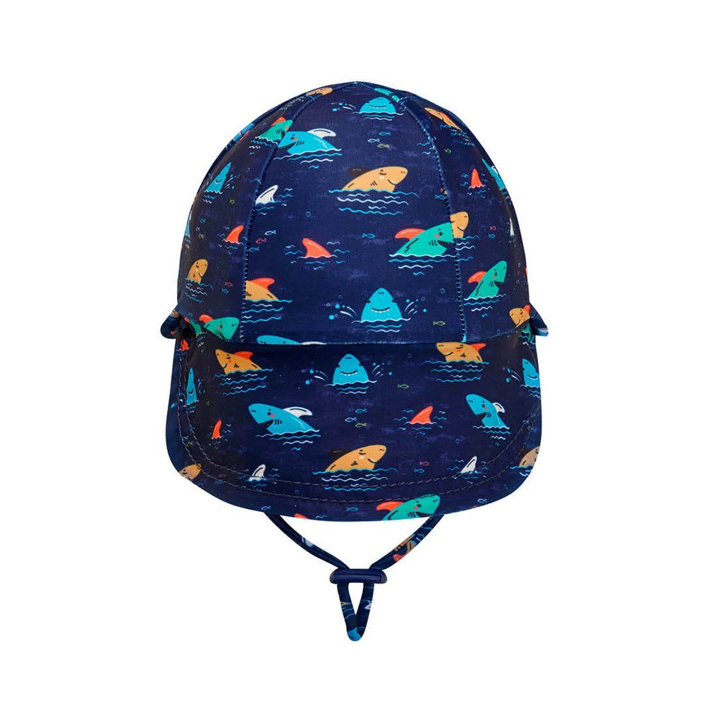 Load image into Gallery viewer, Beach Legionnaire Bedheads Hat Shark (Swim)