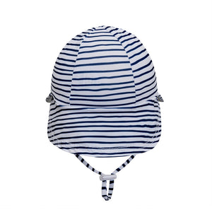 Beach Legionnaire Bedheads Hat Flap Hat Stripe (Swim)