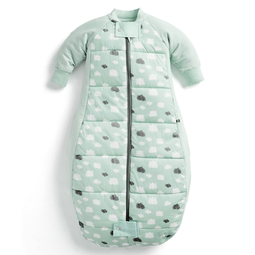 ergoPouch Mint Clouds Sheeting Sleeping Bag 3.5 TOG