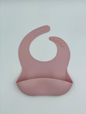 Load image into Gallery viewer, Silicone Bib - Blush