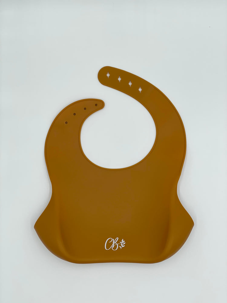 Load image into Gallery viewer, Silicone Bib - Golden Rust