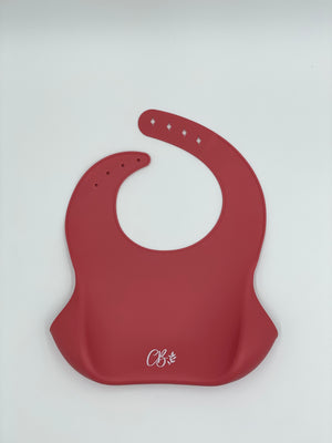 Load image into Gallery viewer, Silicone Bib - Coral
