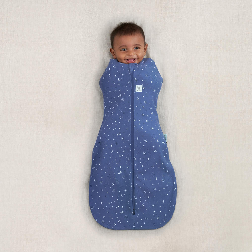 Load image into Gallery viewer, ergoPouch Night Sky Cocoon Swaddle Bag 0.2TOG