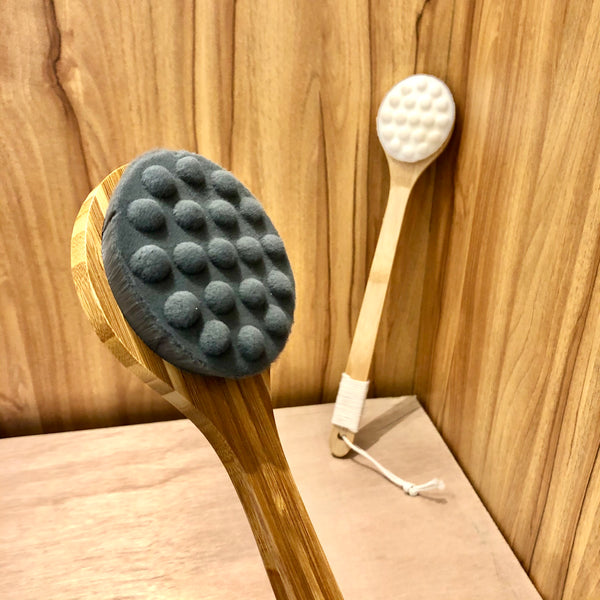 長柄軟毛按摩沐浴刷 Bath and Shower Massage Brush