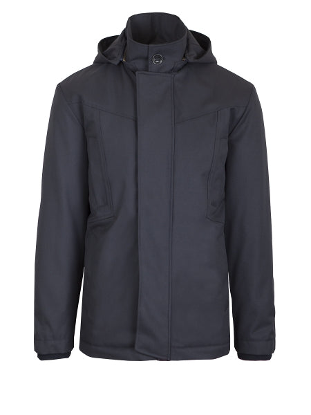 Mens parka long Marine