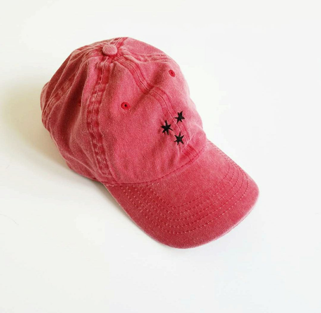 Harry Potter Chapter Stars hat RED