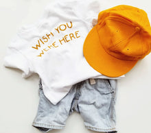 Load image into Gallery viewer, Wish You Were Here TODDLER tee