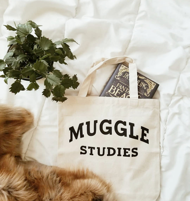 Muggle Studies tote bag