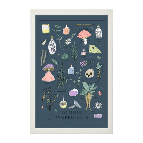 Potions Ingredients Print