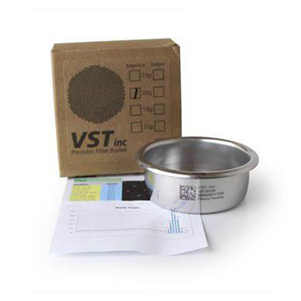 VST PRECISION FILTER BASKET (15 GR/18 GR/20 GR/22 GR/25 GR)