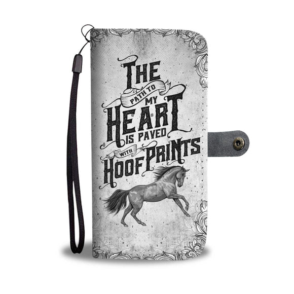 LUCKY HORSE PHONE WALLET CASE - POSHNPRINTS