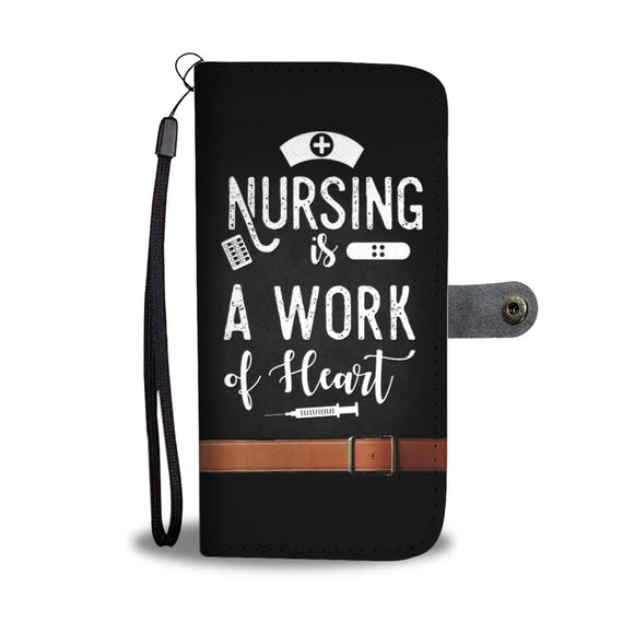 LUCKY NURSE PHONE WALLET CASE - POSHNPRINTS