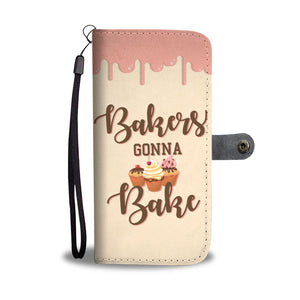 LUCKY BAKER PHONE WALLET CASE - POSHNPRINTS