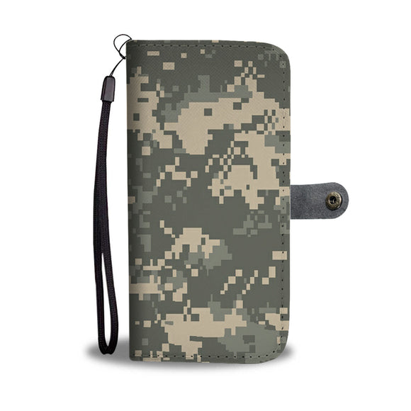 LUCKY CAMO PHONE WALLET CASE - POSHNPRINTS