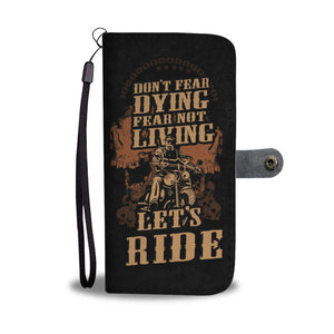 LUCKY BIKERS PHONE WALLET CASE - POSHNPRINTS