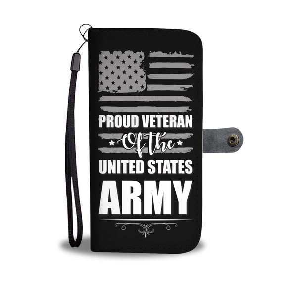 LUCKY VETERAN PHONE WALLET CASE - POSHNPRINTS