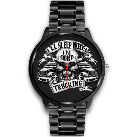 Awesome Skull-Truck Black Watch