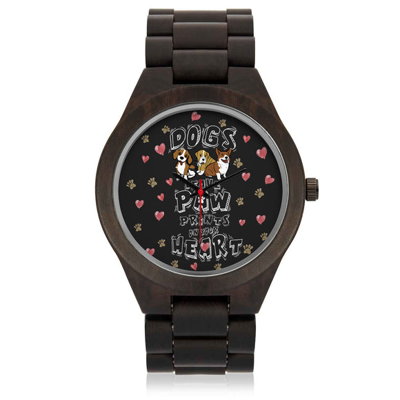 Custom Dog Sandalwood Watch - POSHNPRINTS