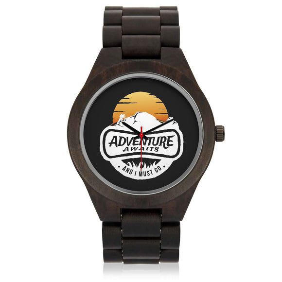 Custom Mountain Sandalwood Watch - POSHNPRINTS