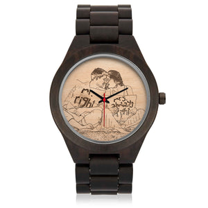 Personalized SandalWood Watch - POSHNPRINTS