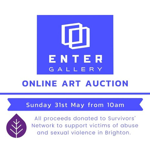 Enter Gallery online charity auction