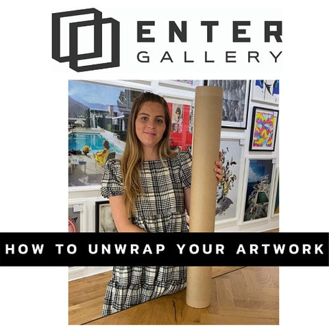 How to unwrap artwork