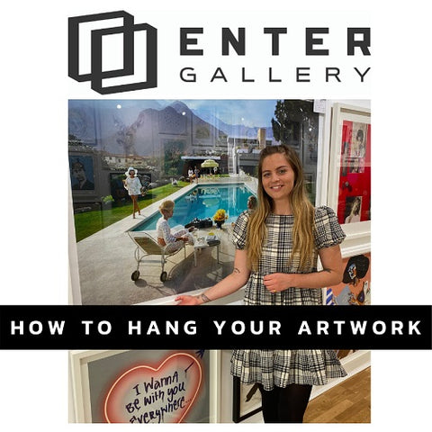 How to hang your artwork