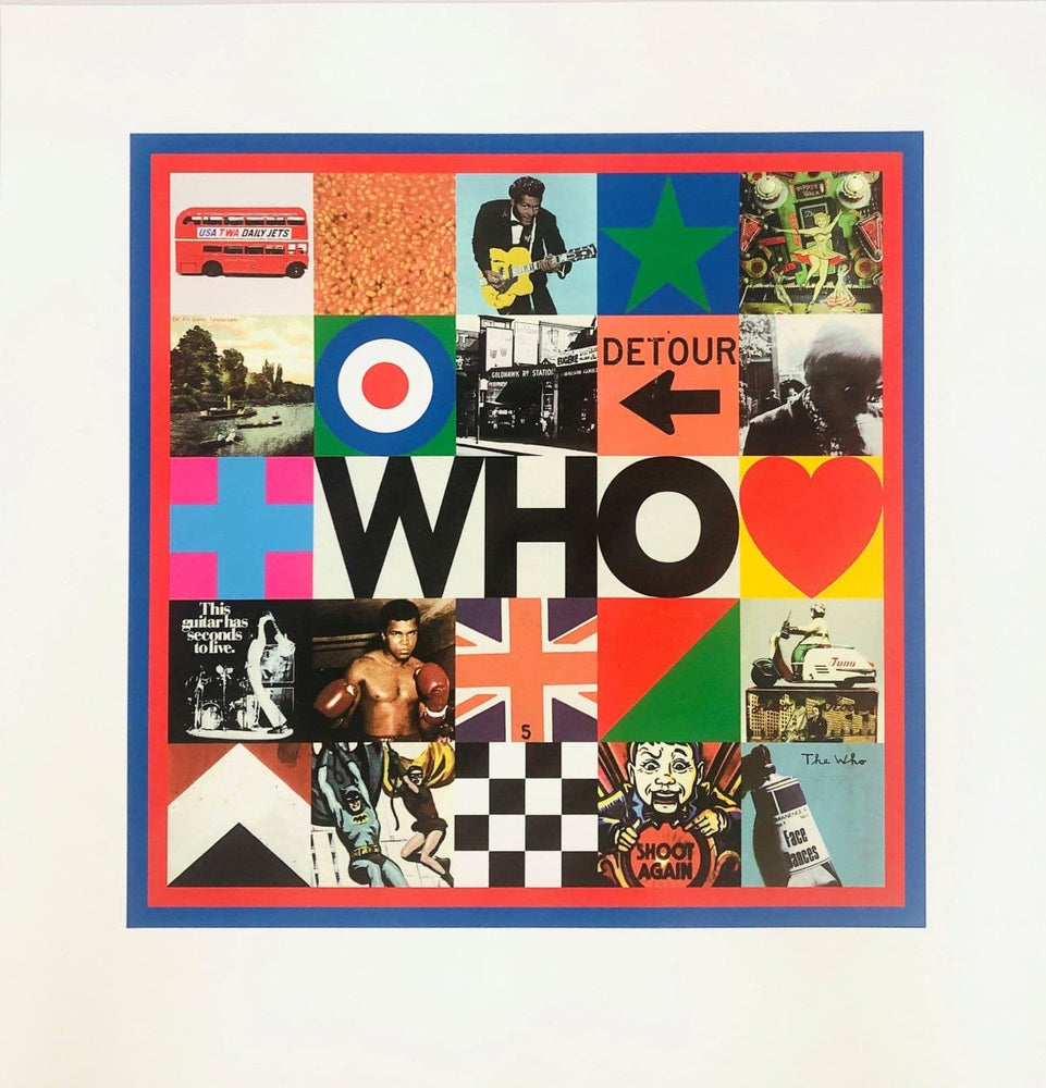 Who artwork by Peter Blake