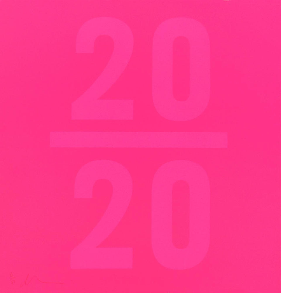 2020 Pink artwork by Dave Buonaguidi