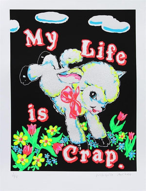 My Life is Crap (Black) artwork by Magda Archer