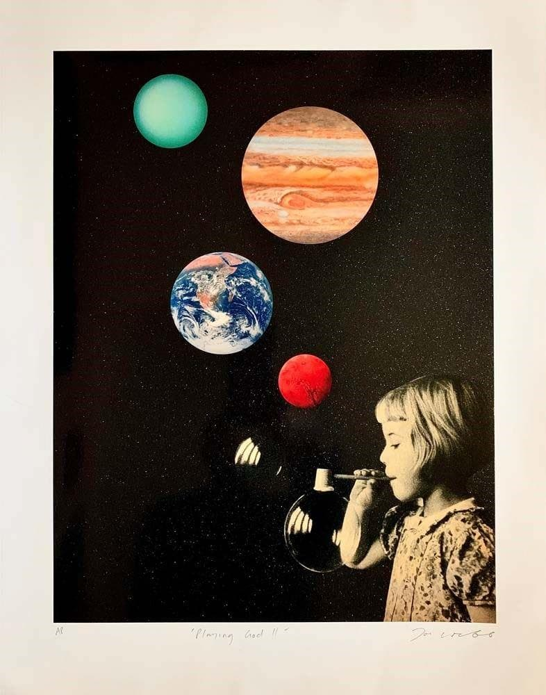 Playing God II artwork by Joe Webb