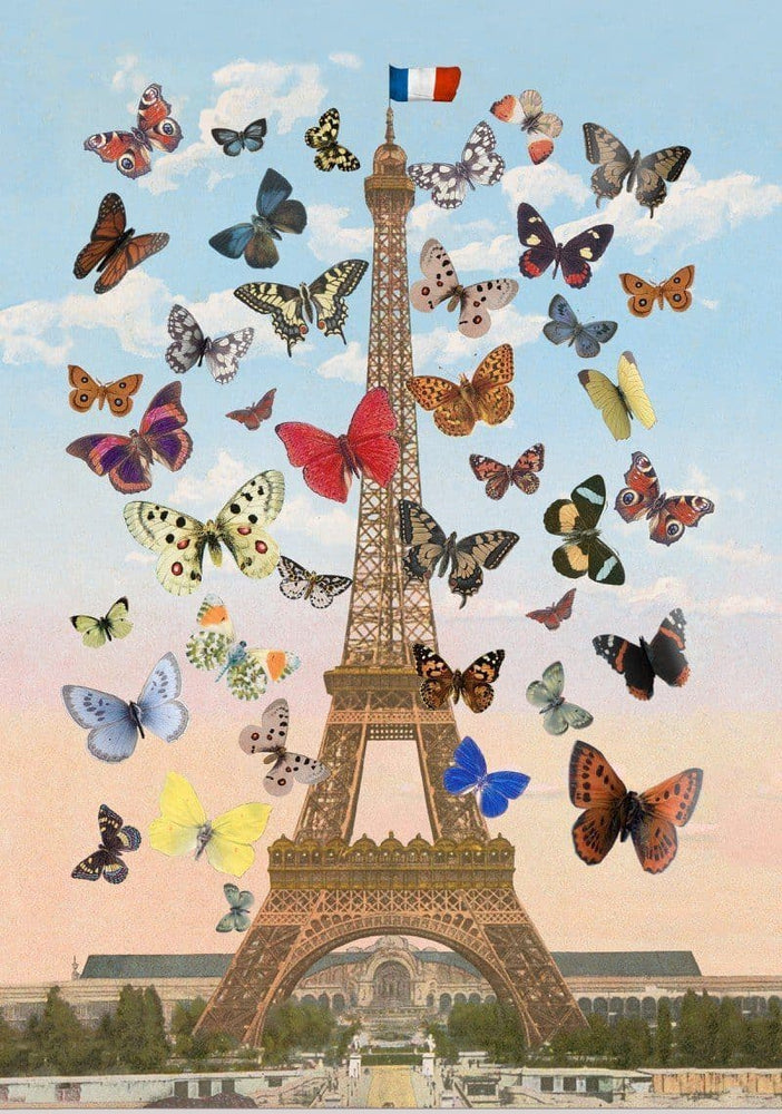 Eiffel Tower, Large artwork by Peter Blake