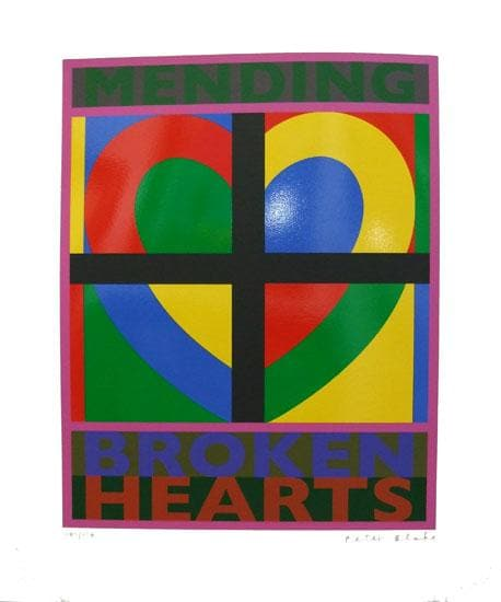 Broken Hearts artwork by Peter Blake
