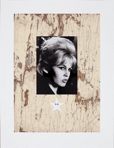 Brigitte Bardot 2010 artwork by Peter Blake
