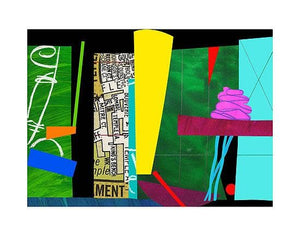 Pink Moda artwork by Bruce Mclean