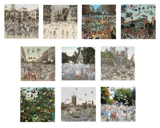 The London Suite 2012 (Set of 10) artwork by Peter Blake